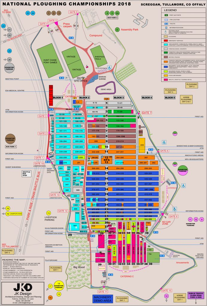 Ploughing Championships 2018_Tullamore_Offaly_Ireland_sitemap